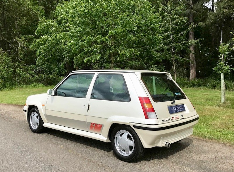 1988 Renault 5 GT Turbo Phase 2, WOW, low mileage 80's HOT HATCH! SOLD (picture 2 of 6)