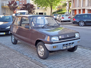 1978 Renault 5 TS (RHD) For Sale