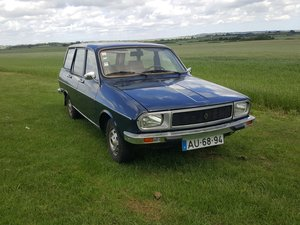 1980 Renault 12 Estate Very low mileage and very rare For Sale