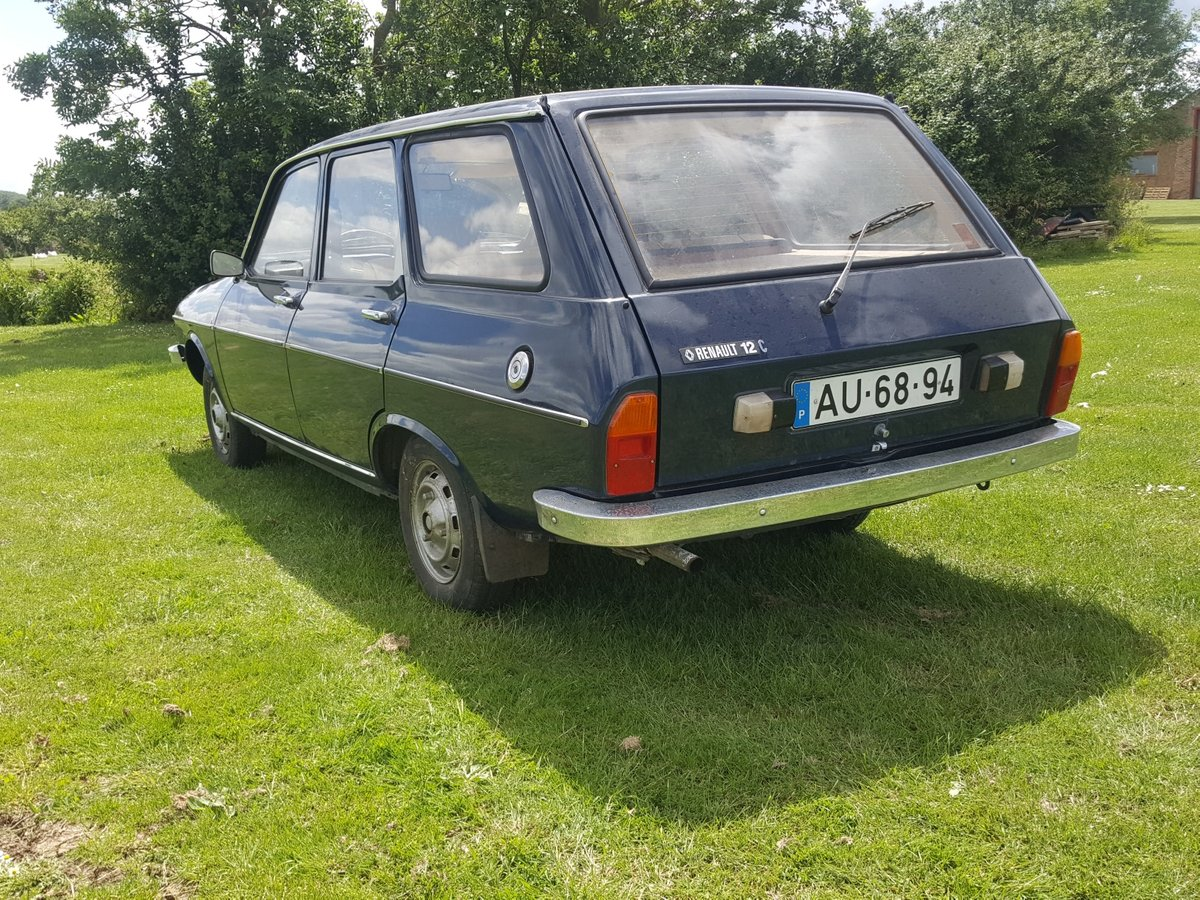1980 Renault 12 Estate Very low mileage and very rare For Sale (picture 2 of 6)