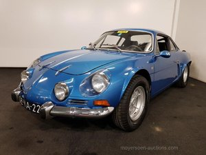1973 Very well maintained Renault Alpine A110 For Sale by Auction