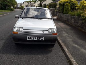 1990 Renault 5 1.1 Campus Silver 54,000 Miles. For Sale