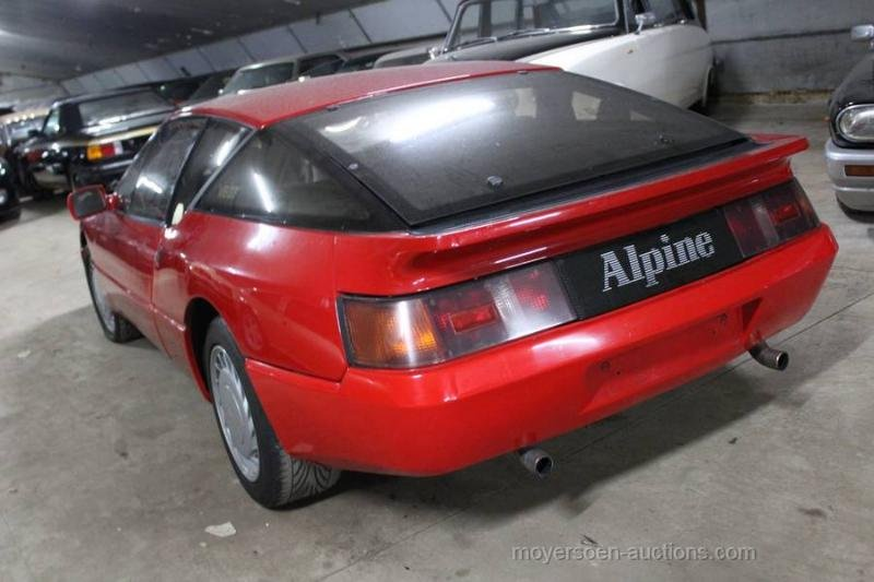 1986 RENAULT Alpine V6 GTA  For Sale by Auction (picture 3 of 6)