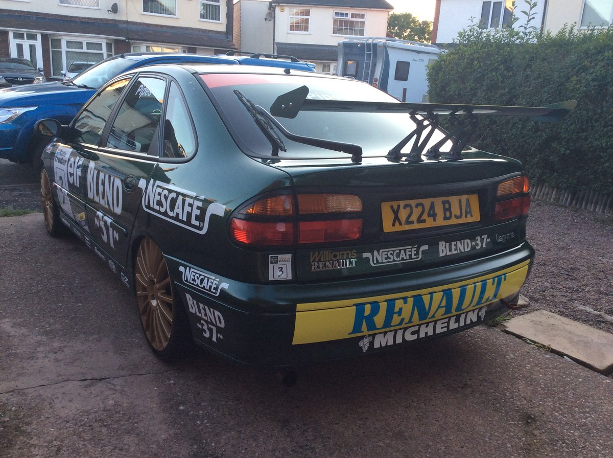 2000 Renault laguna btcc replica *unique car* For Sale (picture 6 of 6)