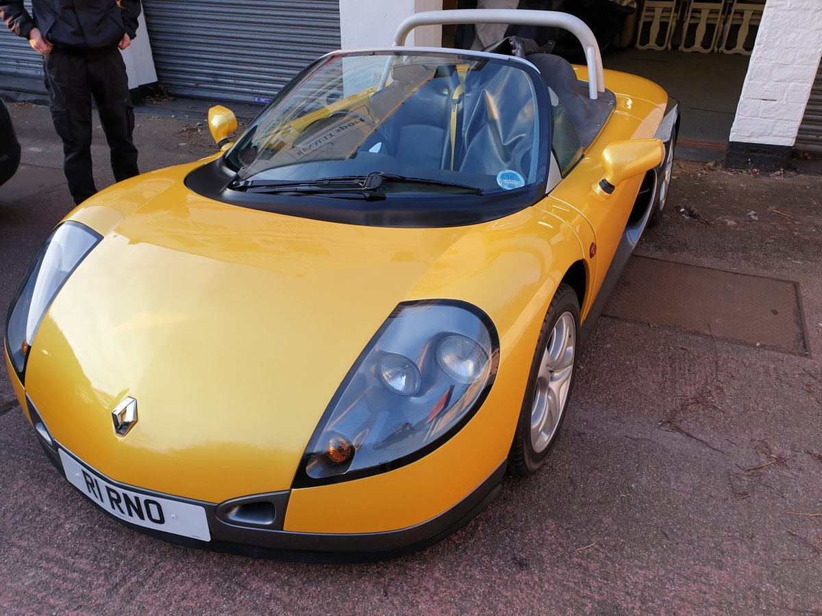 1998  Renault Sport Spider 2.0 16v, only 771 miles SOLD (picture 1 of 6)