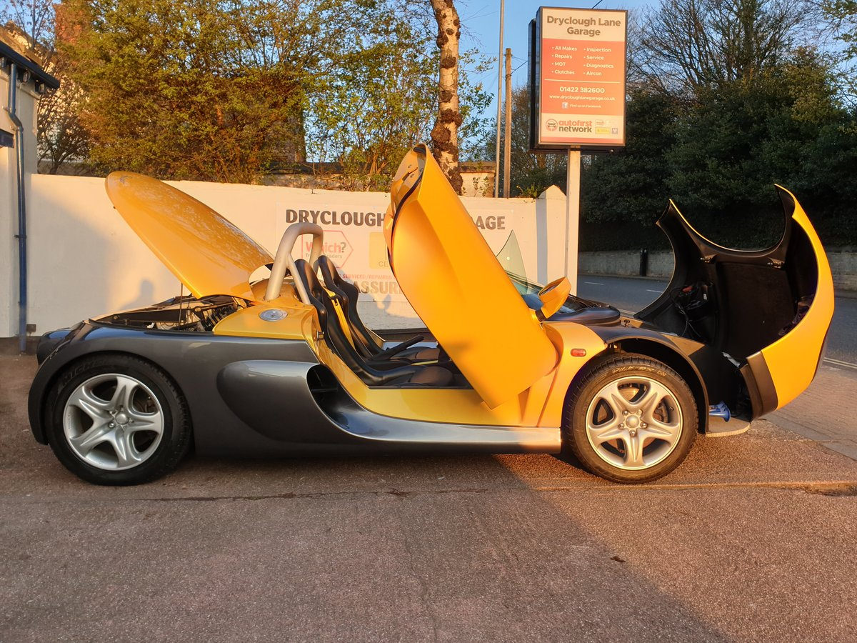 1998  Renault Sport Spider 2.0 16v, only 771 miles SOLD (picture 3 of 6)