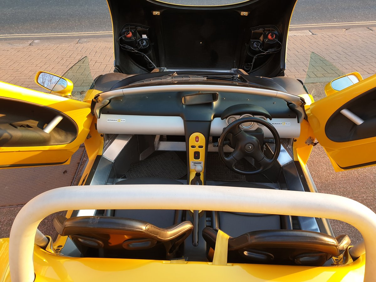 1998  Renault Sport Spider 2.0 16v, only 771 miles SOLD (picture 4 of 6)