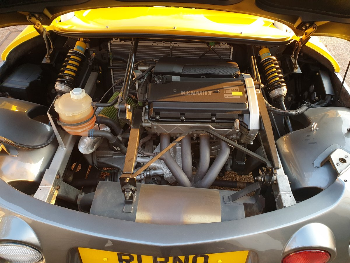 1998  Renault Sport Spider 2.0 16v, only 771 miles SOLD (picture 5 of 6)