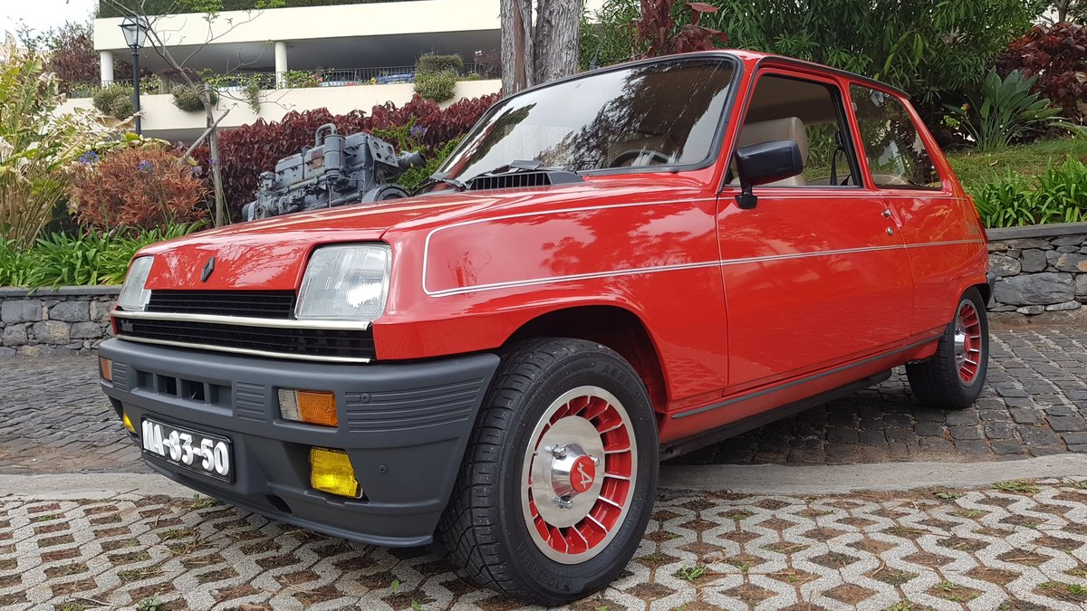 1983 Renault 5 Alpine Turbo  -  Original For Sale (picture 6 of 6)