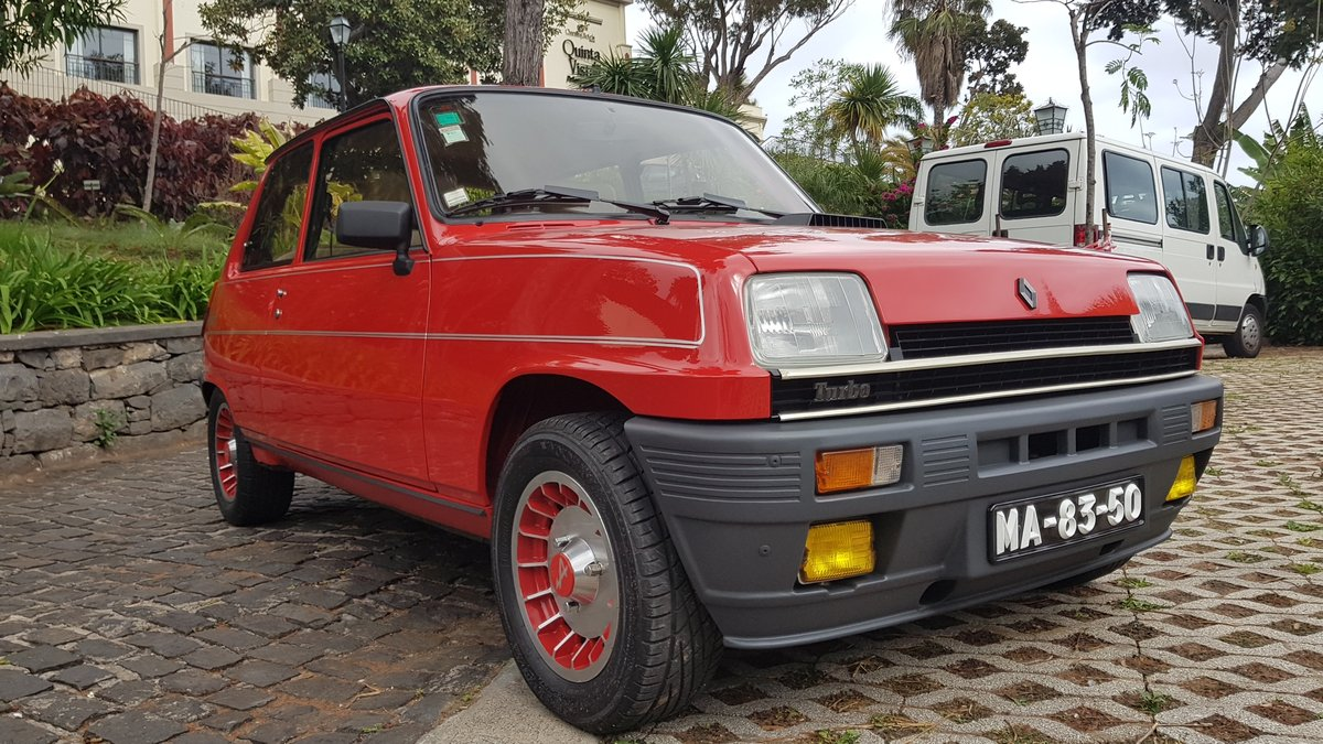 1983 Renault 5 Alpine Turbo  -  Original For Sale (picture 2 of 6)