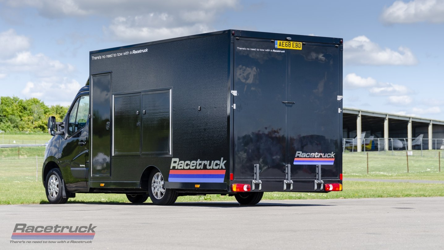 2020 Racetruck – Enclosed Race Car Transporter For Sale (picture 1 of 6)