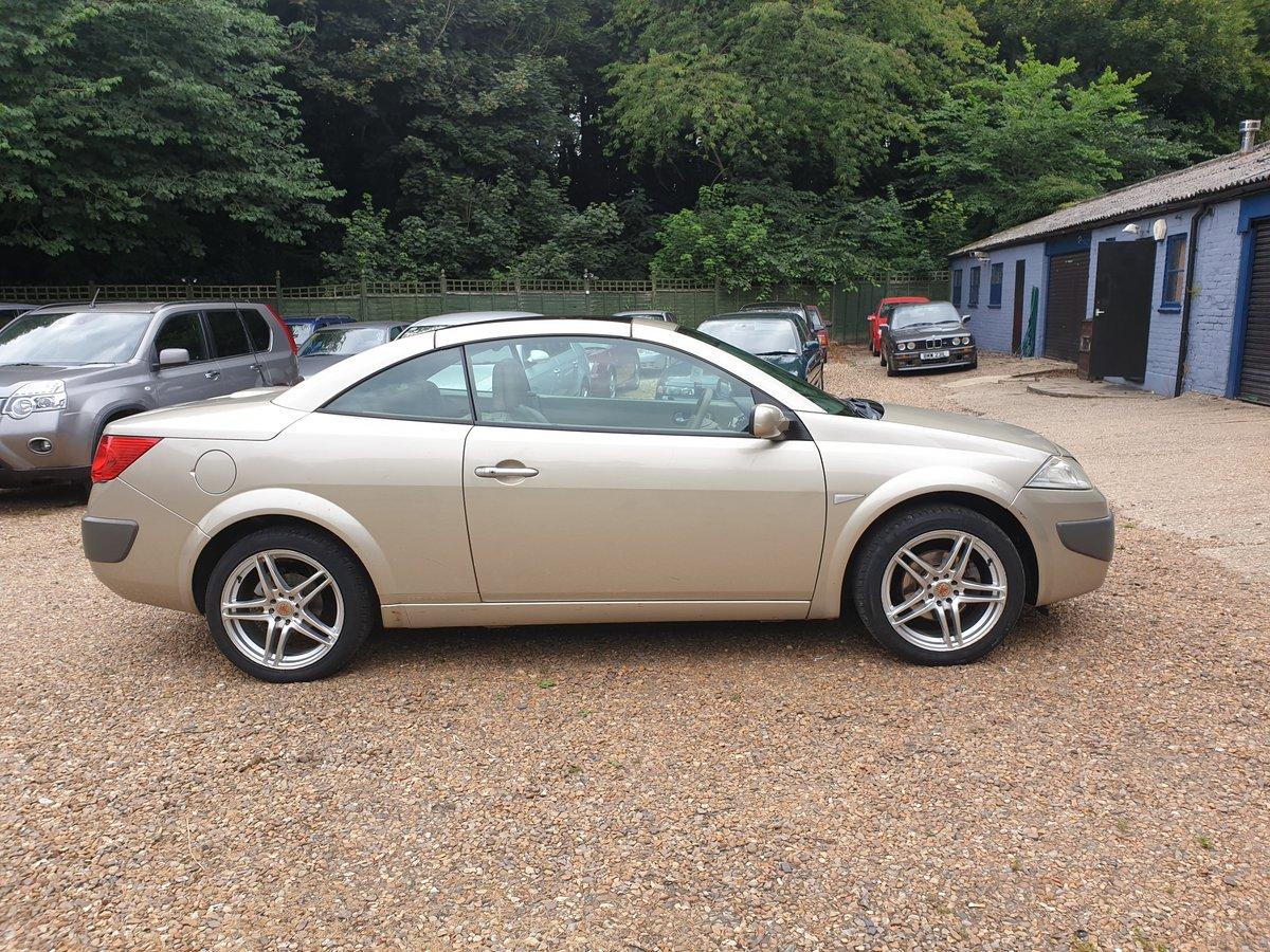 2007 Renault Megane Privilege.. 2.0 Auto.. Karmann Convertible..  SOLD (picture 1 of 6)