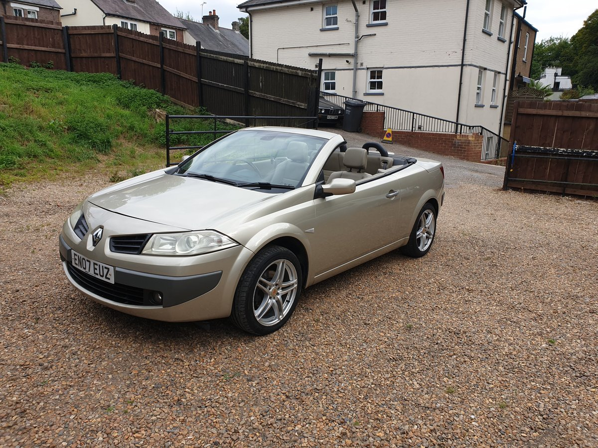 2007 Renault Megane Privilege.. 2.0 Auto.. Karmann Convertible..  SOLD (picture 2 of 6)