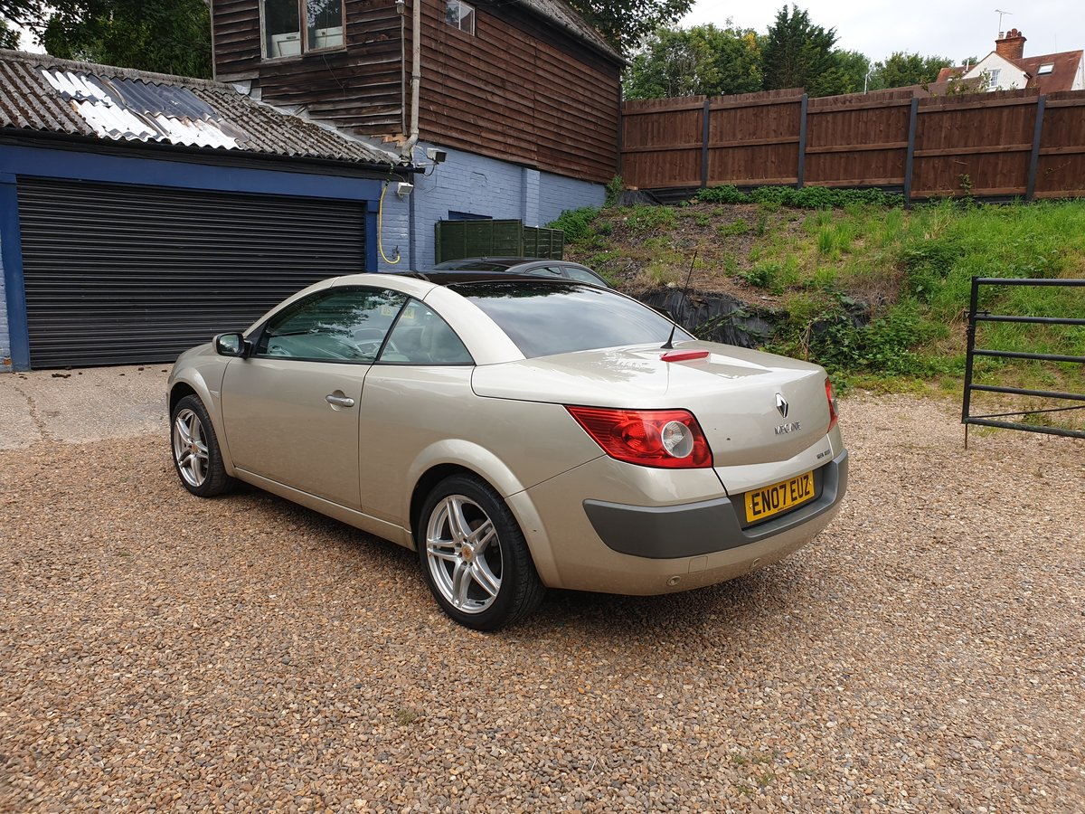 2007 Renault Megane Privilege.. 2.0 Auto.. Karmann Convertible..  SOLD (picture 6 of 6)
