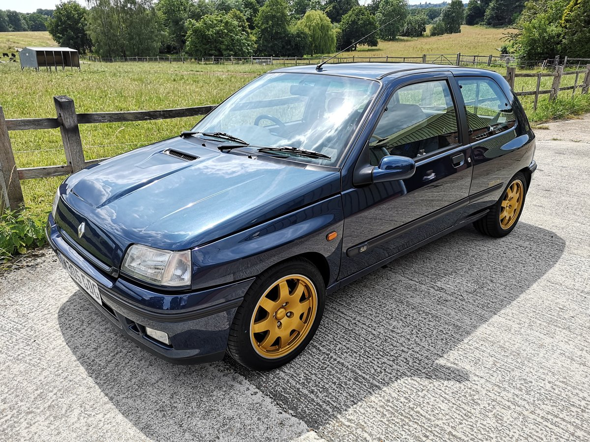1995 Renault Clio Williams 2 Absolutely stunning For Sale (picture 1 of 6)