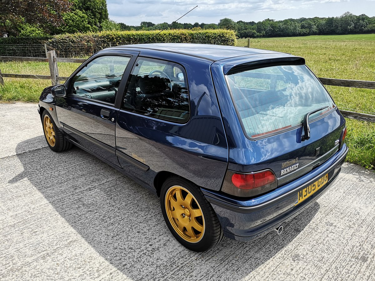 1995 Renault Clio Williams 2 Absolutely stunning For Sale (picture 2 of 6)