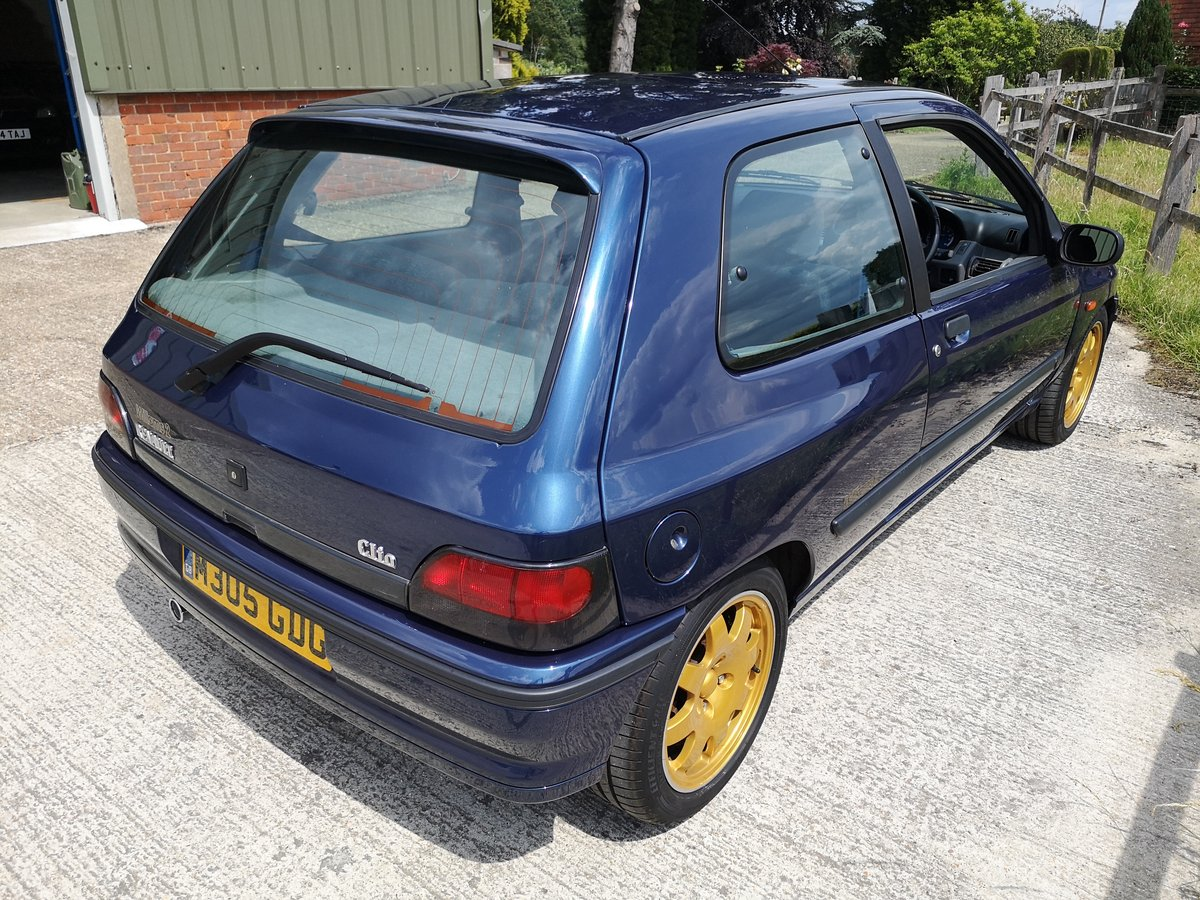 1995 Renault Clio Williams 2 Absolutely stunning For Sale (picture 3 of 6)