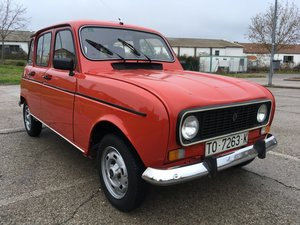 1987 Renault 4 from Dry, Desert Area of Spain For Sale