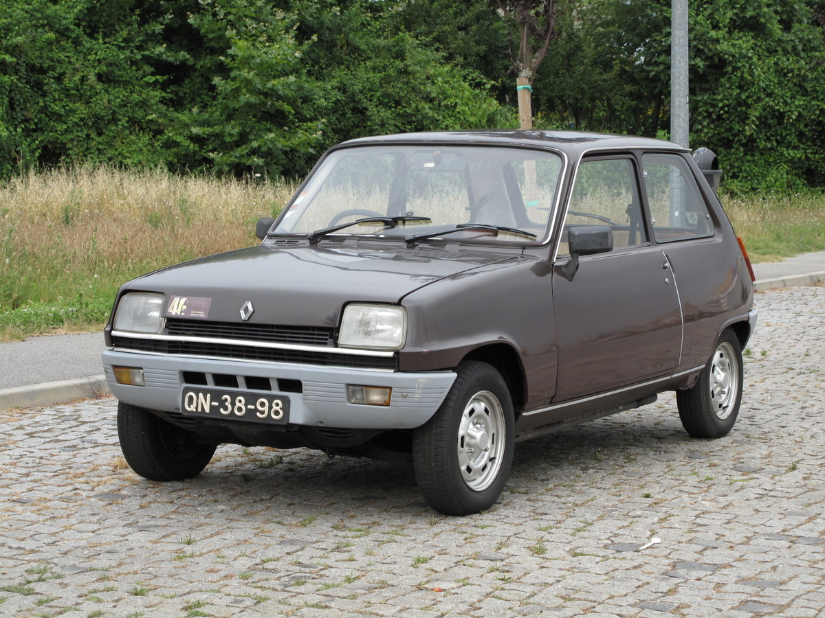 1978 Renault 5 TS (RHD) For Sale (picture 1 of 6)