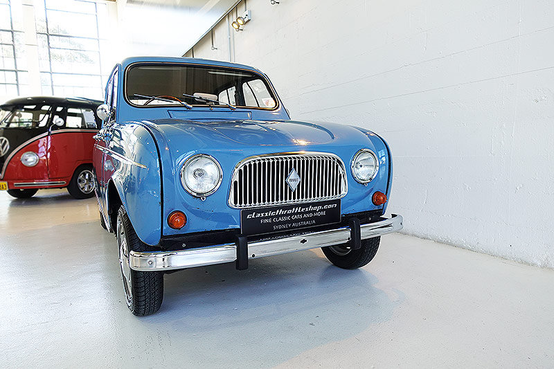 1966 Renault 4, original RHD, superb history - oui oui oui For Sale (picture 1 of 6)