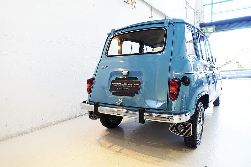 1966 Renault 4, original RHD, superb history - oui oui oui For Sale (picture 2 of 6)
