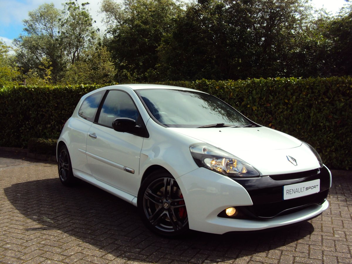 2010 EXCEPTIONAL CLIO RS 200 - THANK YOU - NOW SOLD For Sale (picture 1 of 6)