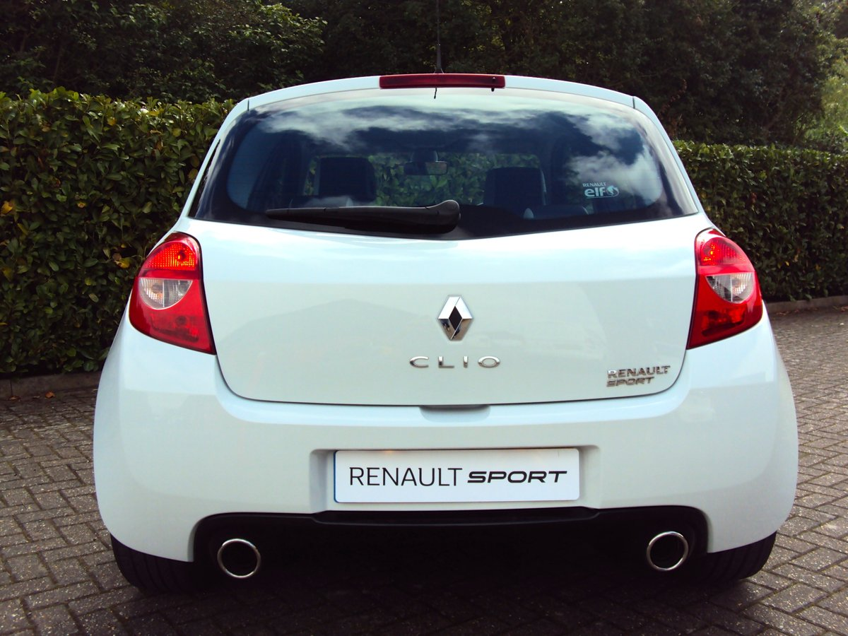 2010 EXCEPTIONAL CLIO RS 200 - THANK YOU - NOW SOLD For Sale (picture 3 of 6)