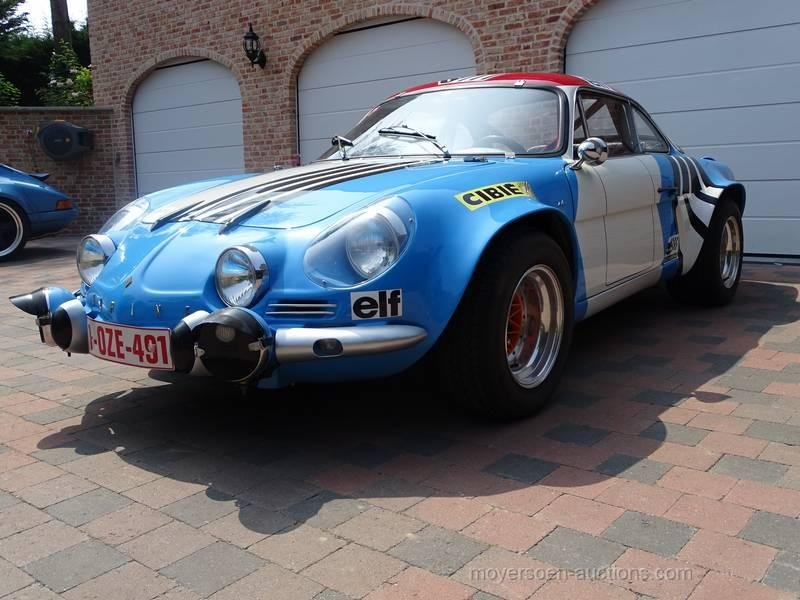 1967 RENAULT Alpine A110 G4 For Sale by Auction (picture 1 of 6)