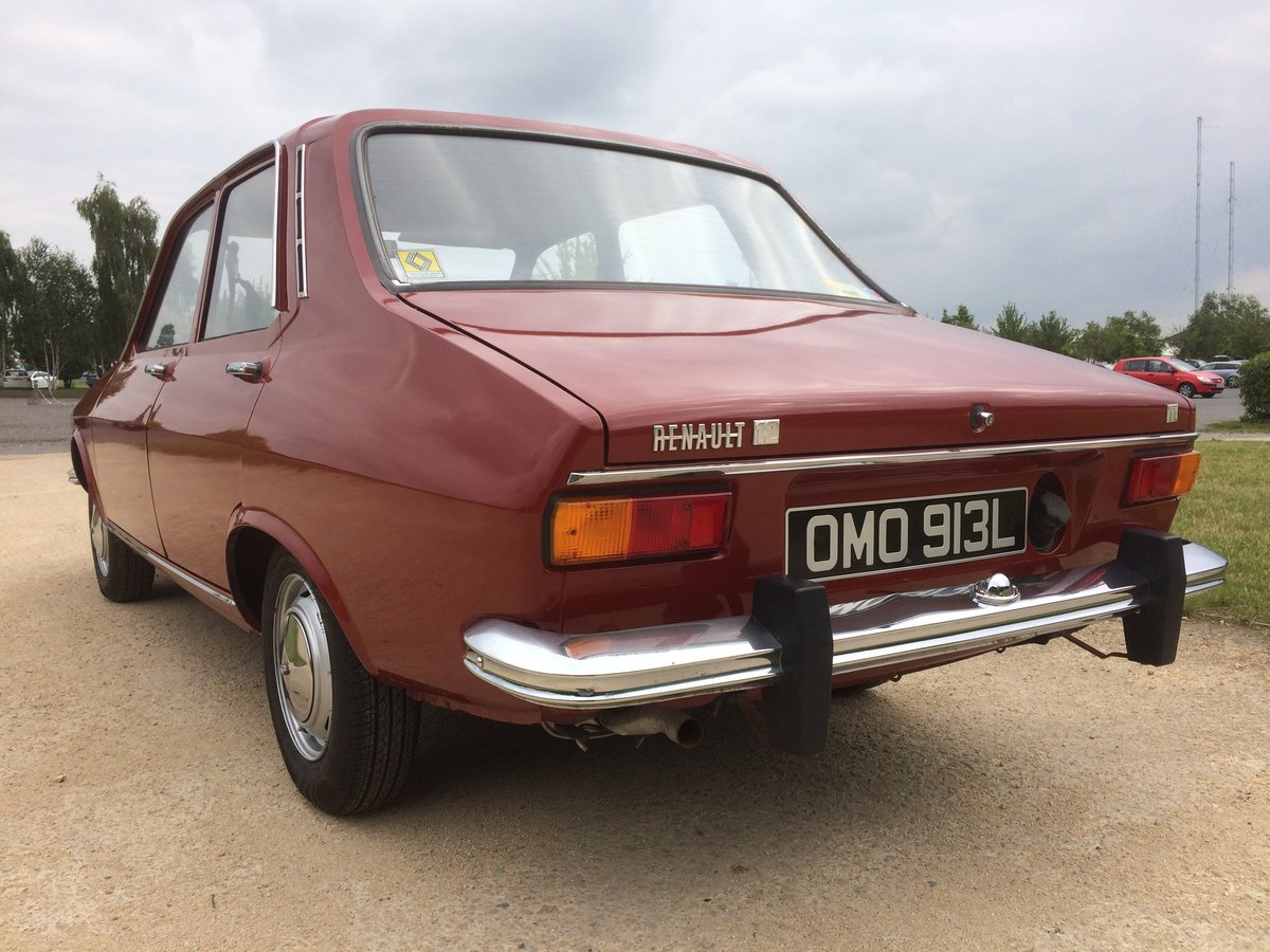 Renault 12 TL (1973) For Sale (picture 5 of 6)