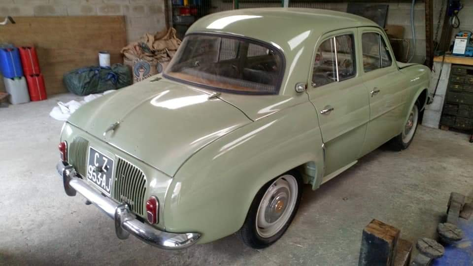 1957 Renault Dauphine - UK Registered SOLD (picture 5 of 6)