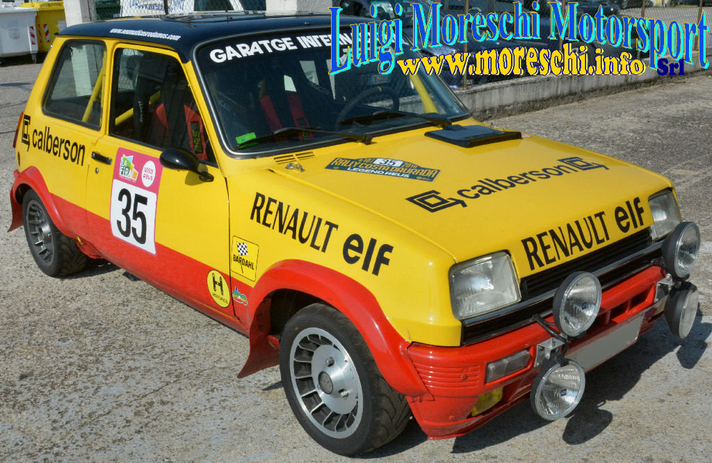 1981 Renault R5 Alpine Rally Gr A For Sale (picture 1 of 6)