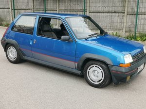 1986 Renault 5 gt turbo ph1 excellent condition For Sale