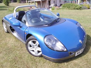 1997 Renault spider one of 92 right-hand drive 13000 miles SOLD
