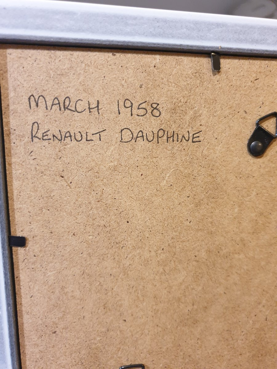1958 Renault Dauphine advert Original  For Sale (picture 2 of 2)