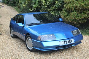 1986 Renault GTA V6 Turbo, ex press car For Sale