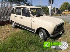 Renault 4 950-1986-MOTORE NUOVO-TARGHE ORIGINALI For Sale