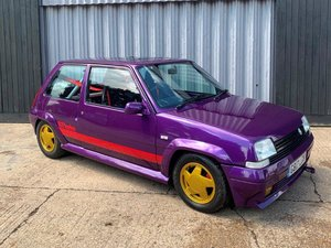 1989 Renault 5 GT Turbo at ACA 24th August
