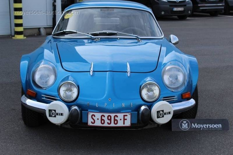 1974 RENAULT Alpine A110 1600 SC For Sale by Auction (picture 2 of 6)