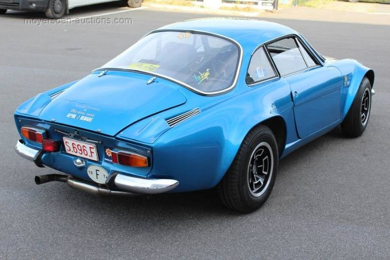 1974 RENAULT Alpine A110 1600 SC For Sale by Auction (picture 3 of 6)