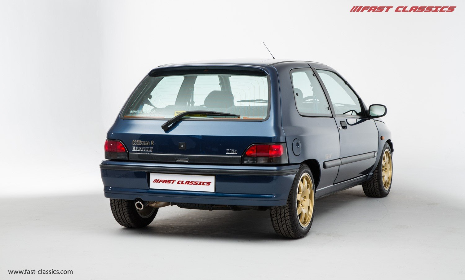 1995 RENAULT CLIO WILLIAMS 2 // ONLY 6K MILES // TIME WARP CONDIT SOLD (picture 3 of 6)