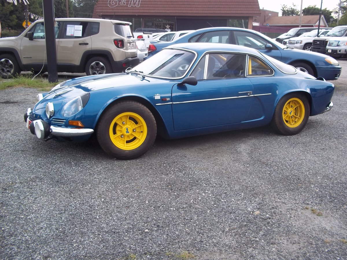 1966 Alpine Renault A-110 1300 For Sale (picture 1 of 6)