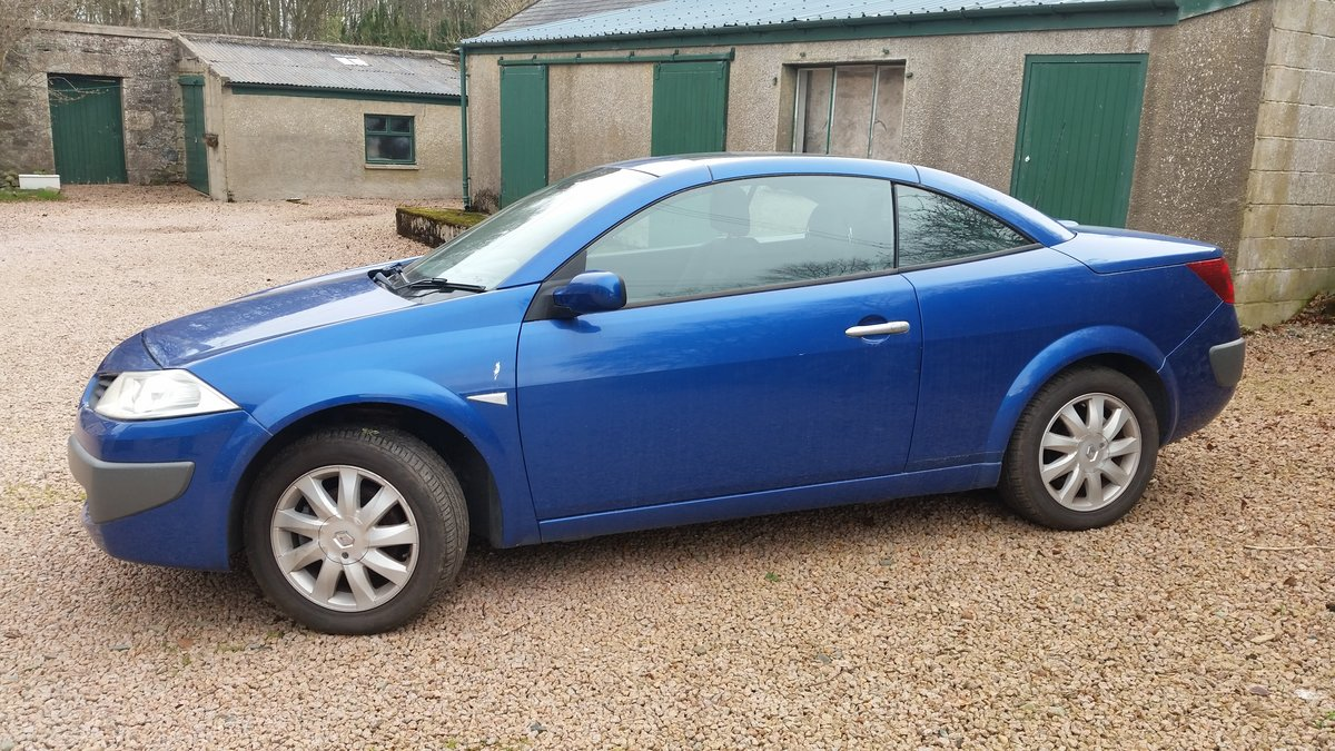 2006 Renault Megane Convertible For Sale (picture 1 of 5)