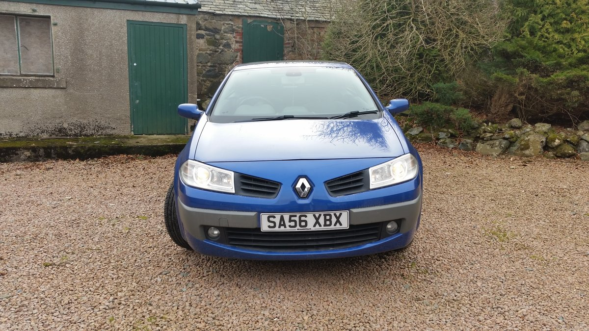 2006 Renault Megane Convertible For Sale (picture 3 of 5)