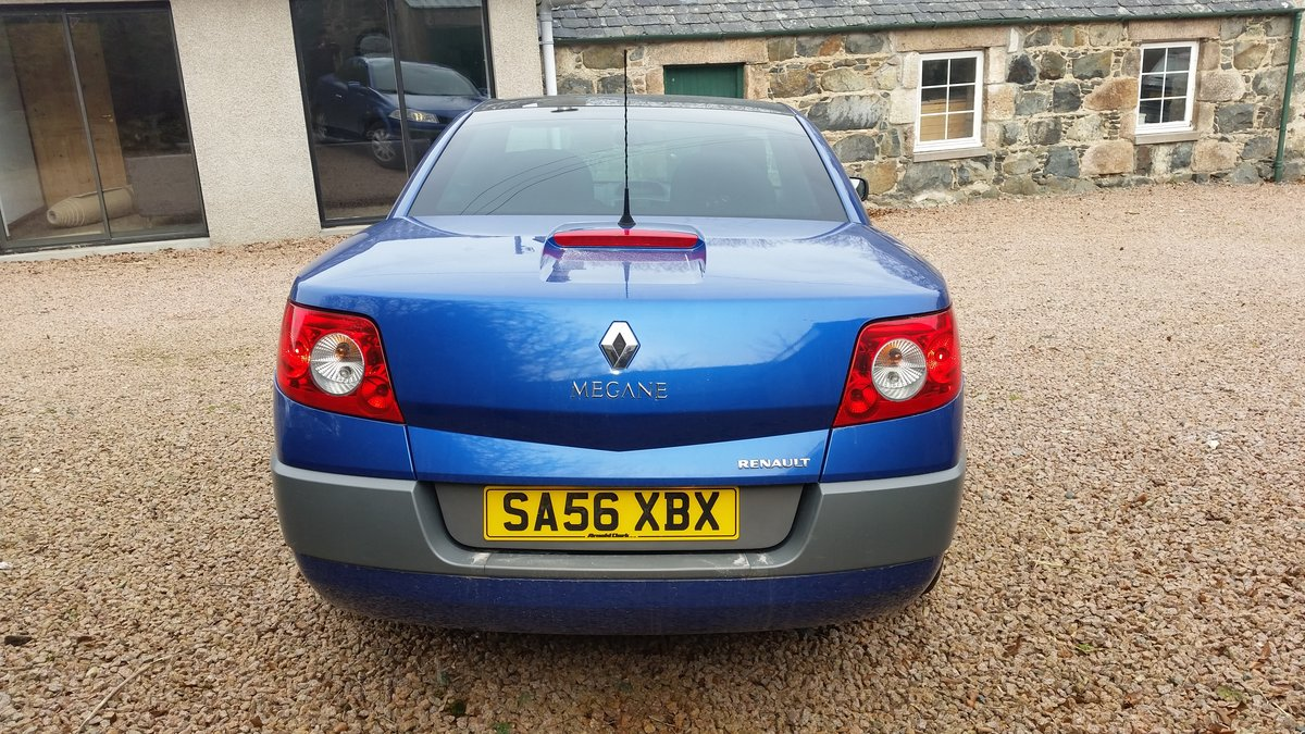 2006 Renault Megane Convertible For Sale (picture 4 of 5)
