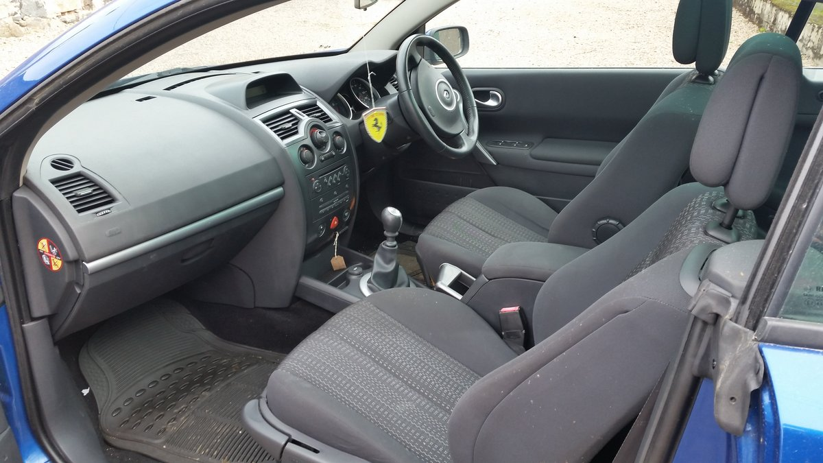 2006 Renault Megane Convertible For Sale (picture 5 of 5)