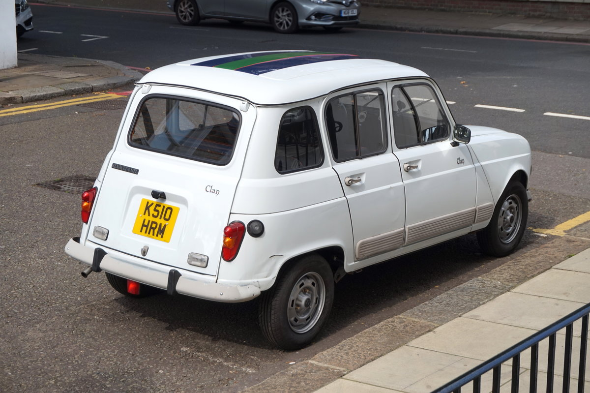 1992 Renault 4 gtl clan (1108cc) For Sale (picture 2 of 6)
