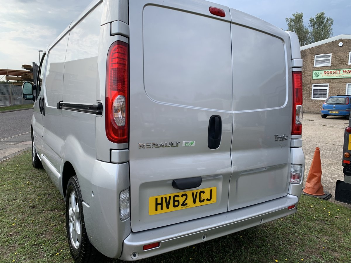 2012 Renault Trafic NO VAT 1 owner low mileage For Sale (picture 3 of 5)