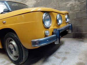 1970 Renault 8s