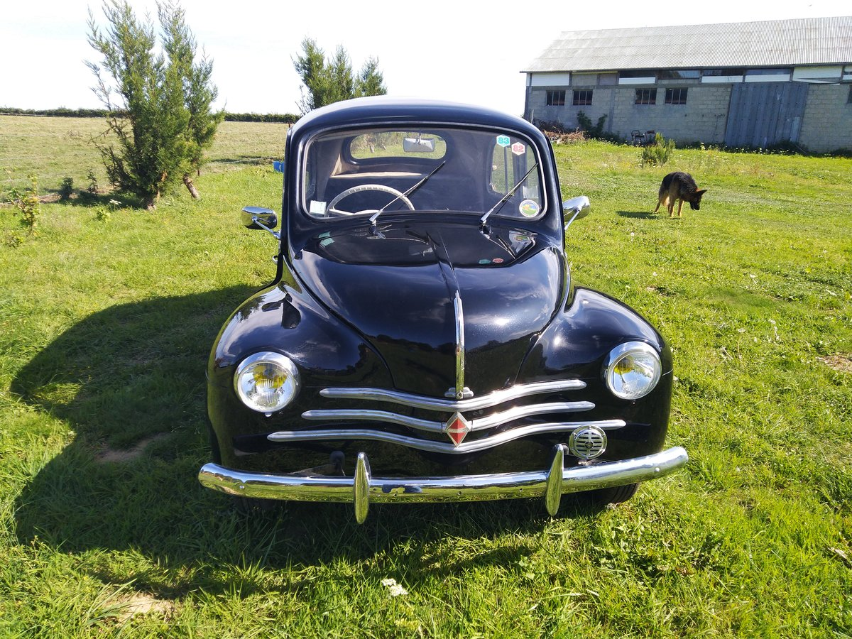 1958 Renault 4CV. RHD. For Sale (picture 1 of 6)