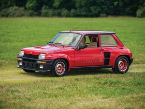 1985 Renault 5 Turbo 2  For Sale by Auction